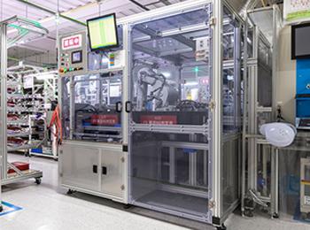インライン型基板搬送装置(基板エアブローシステム)